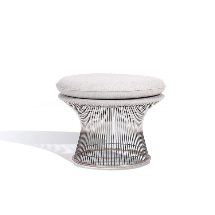 Platner Ottoman - Light Gray