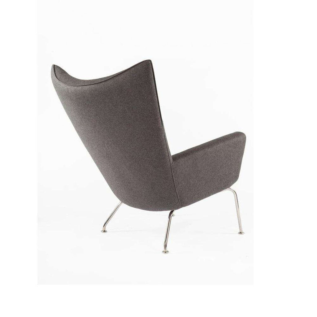 CH445 Wing Chair - Charcoal [staff pick]