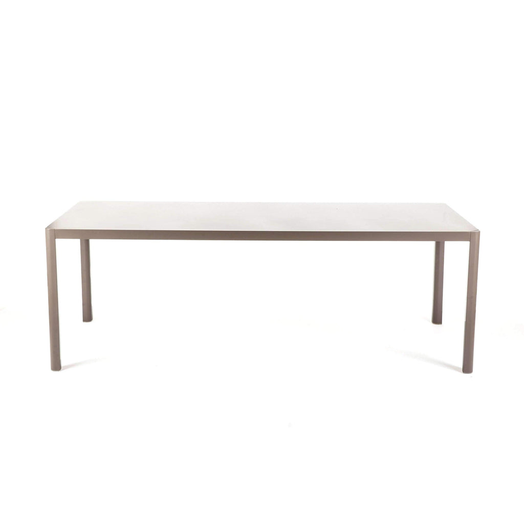 Leoda Outdoor Dining Table - Taupe  **PICK UP ONLY**