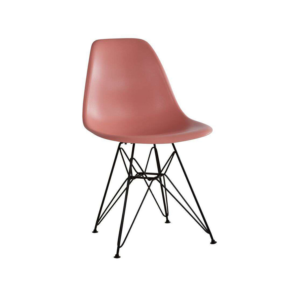 DSR Eiffel Chair - Black Metal Legs *PICK UP ONLY*
