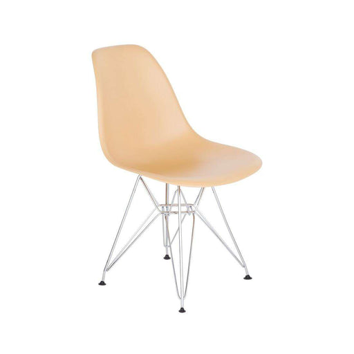 DSR Eiffel Chair - Chrome Metal Legs *PICK UP ONLY*