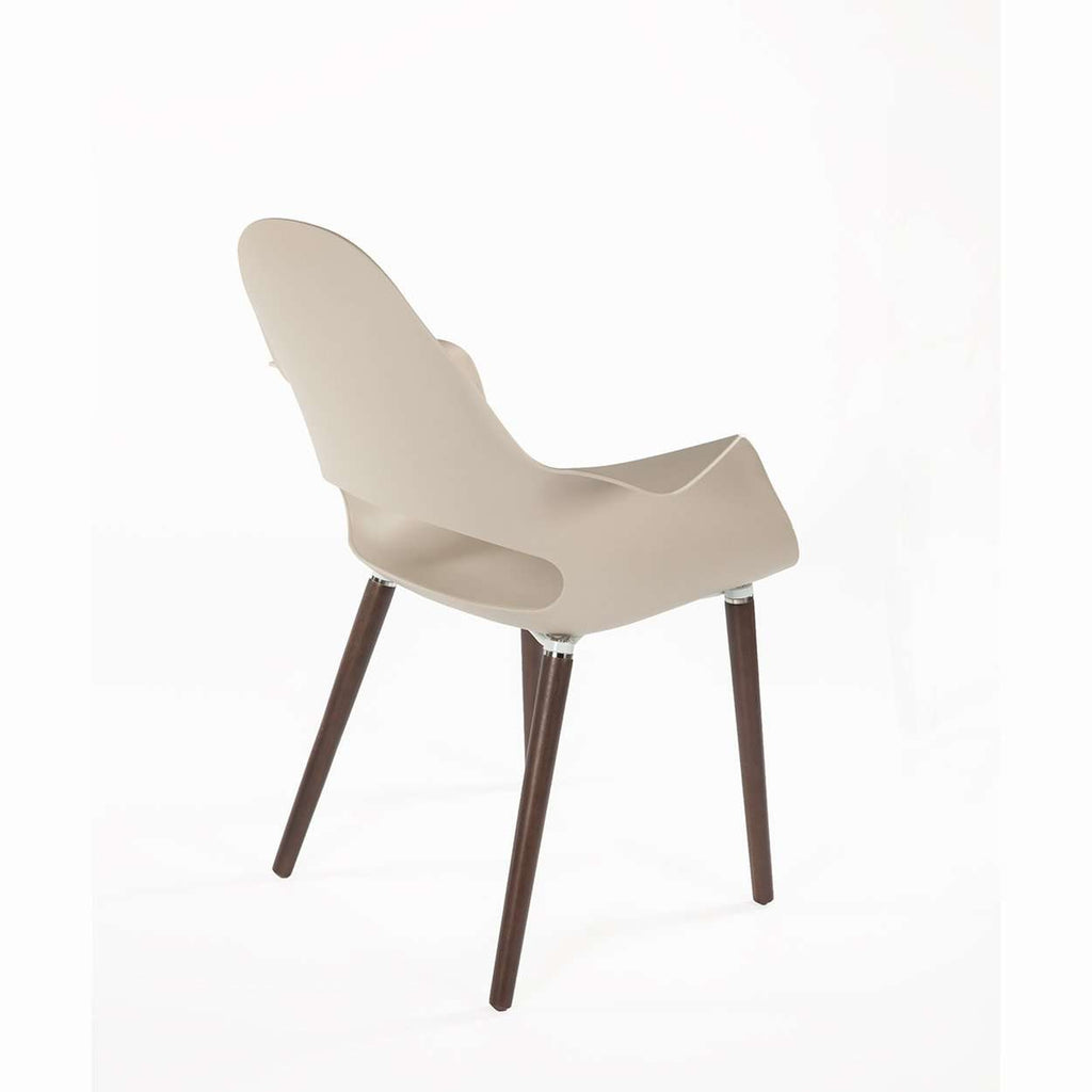 Modern Reproduction Organic Arm Chair Beige