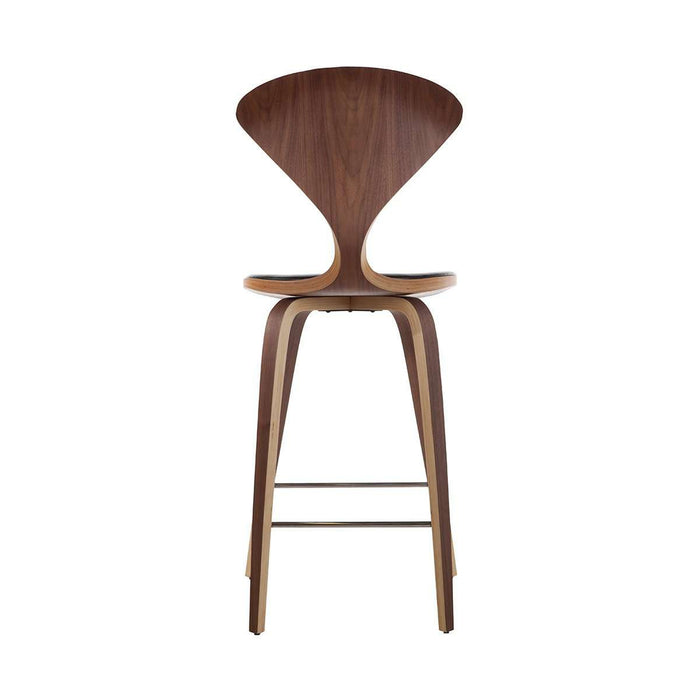 Mid Century Norman Counter Stool - Aniline Leather