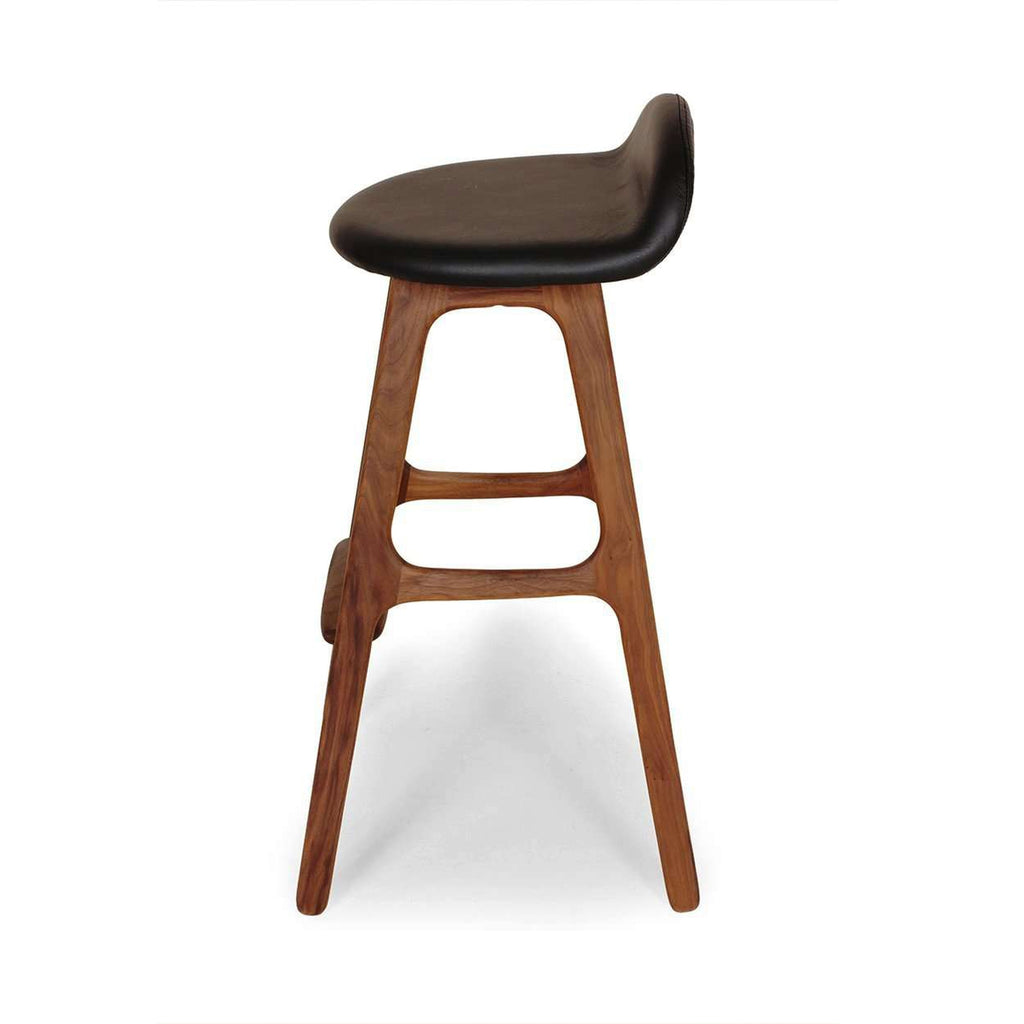 Mid Centruy Buch Bar Stool - Walnut