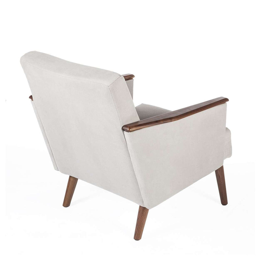 Mid Century Walnut Lounge Chair *free local shipping only*