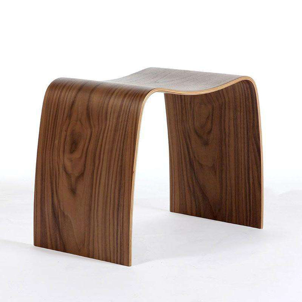 Mid Century Taburet M Stacking Stool - Walnut