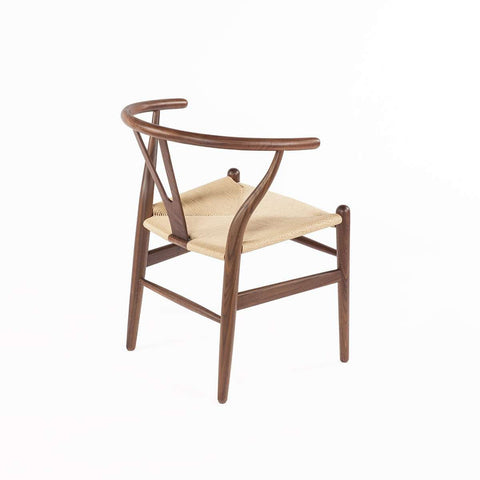 Wegner Wishbone Y Chair - Solid Walnut