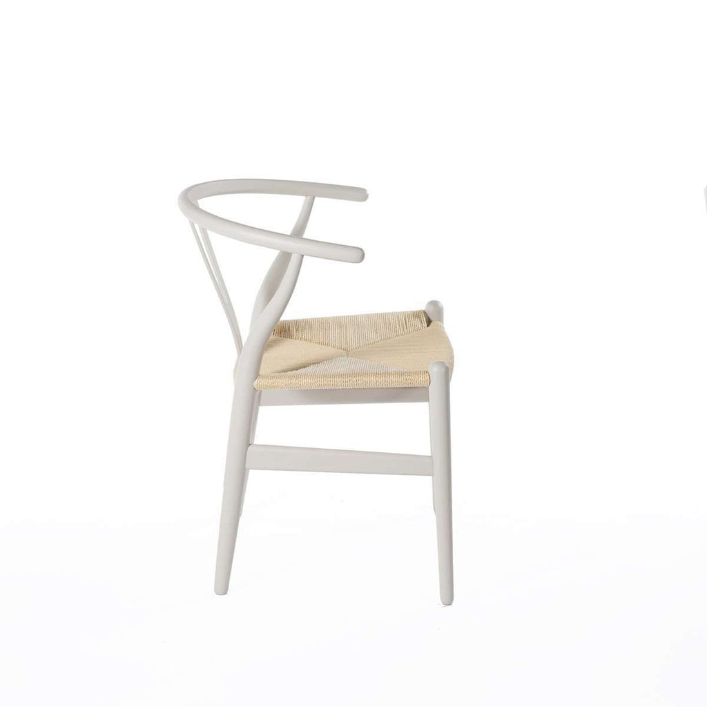 CH24 Wishbone Y Chair - Warm Grey