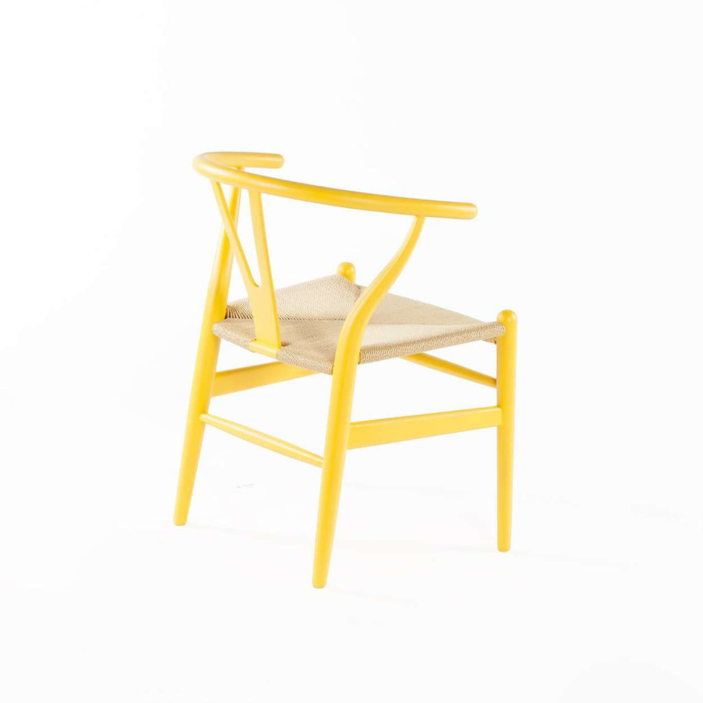 CH24 Wishbone Y Chair - Yellow *free local shipping only *