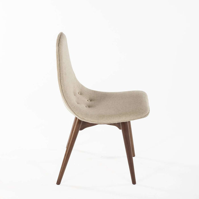 Mid Century Contour Dining Chair