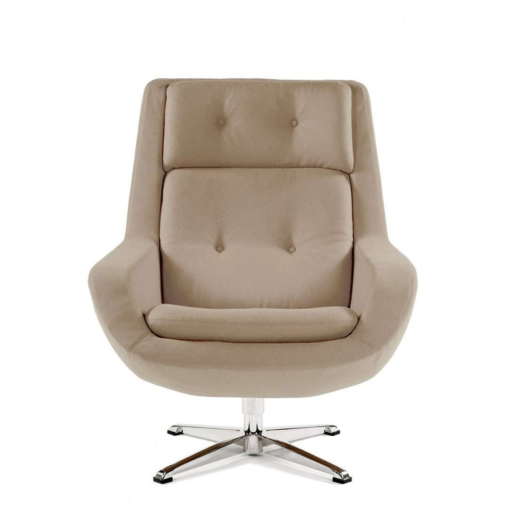 Konni Overman Lounge Chair - Beige  [staff pick] free shipping
