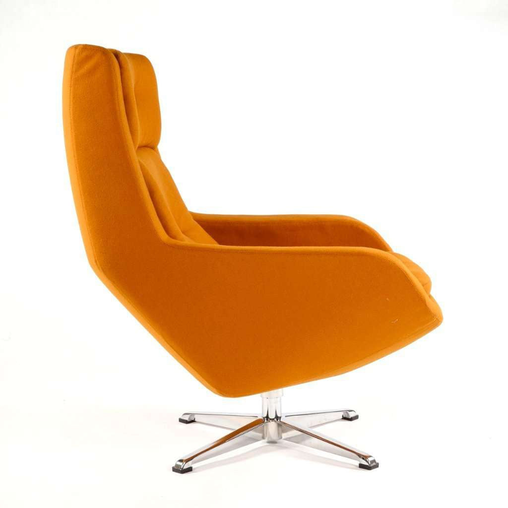 Konni Overman Lounge Chair - Orange  [new product] free shipping