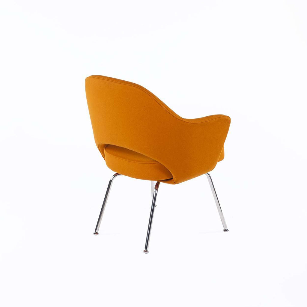 Executive Arm Chair - Orange Wool [staff pick]