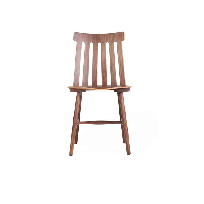 Mid Century Lamel Spindle Dining Chair