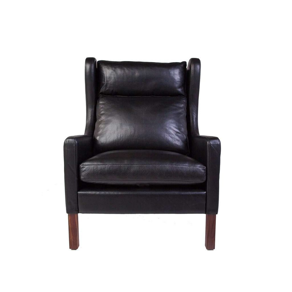 2204 Wingback Armchair - Black - [new product] free shipping