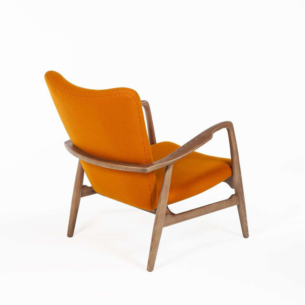 The Kelley Mid Century Lounge Chair - Orange  [new product] free shipping