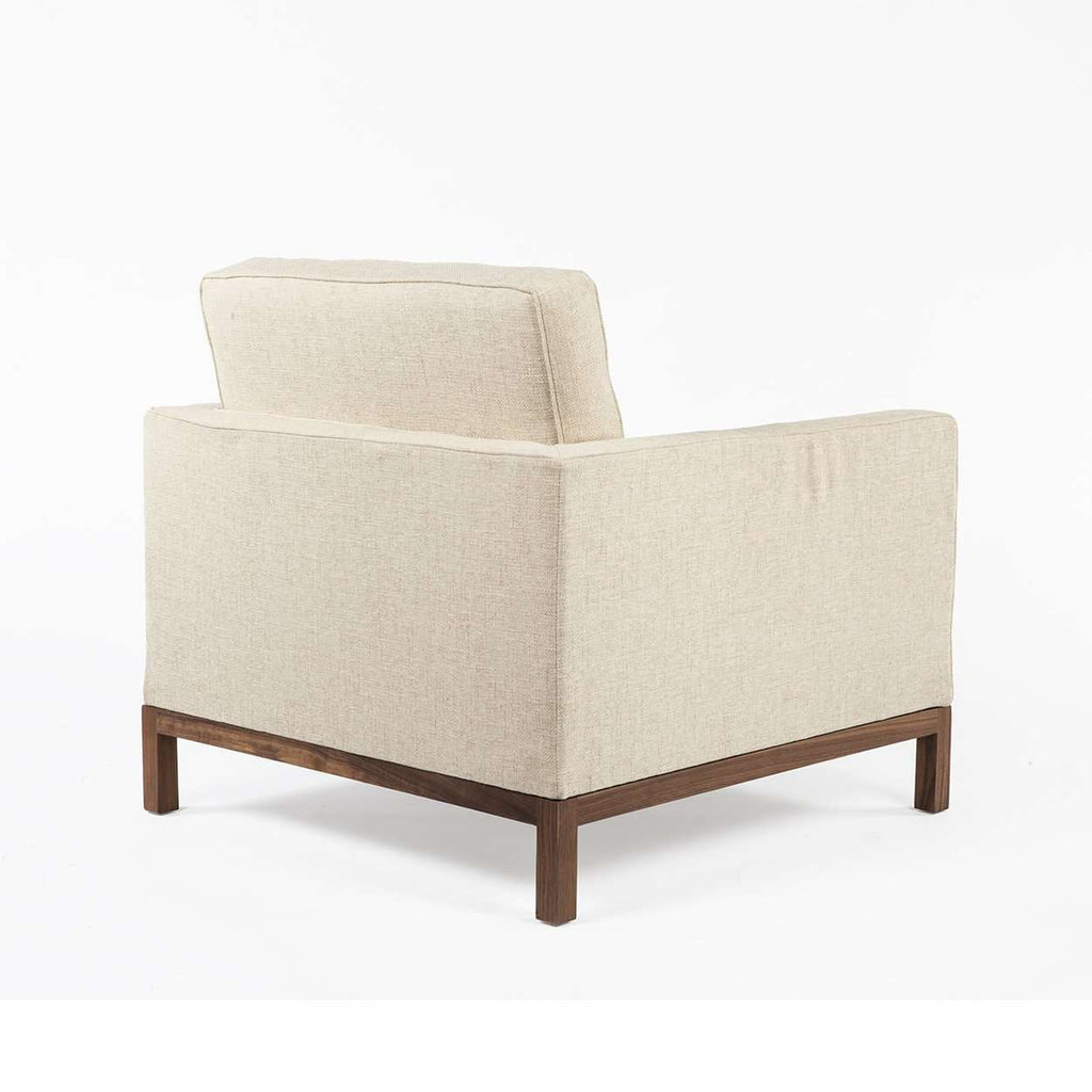 Dara Lounge Chair - Beige Twill  [new product] free local shipping only*****