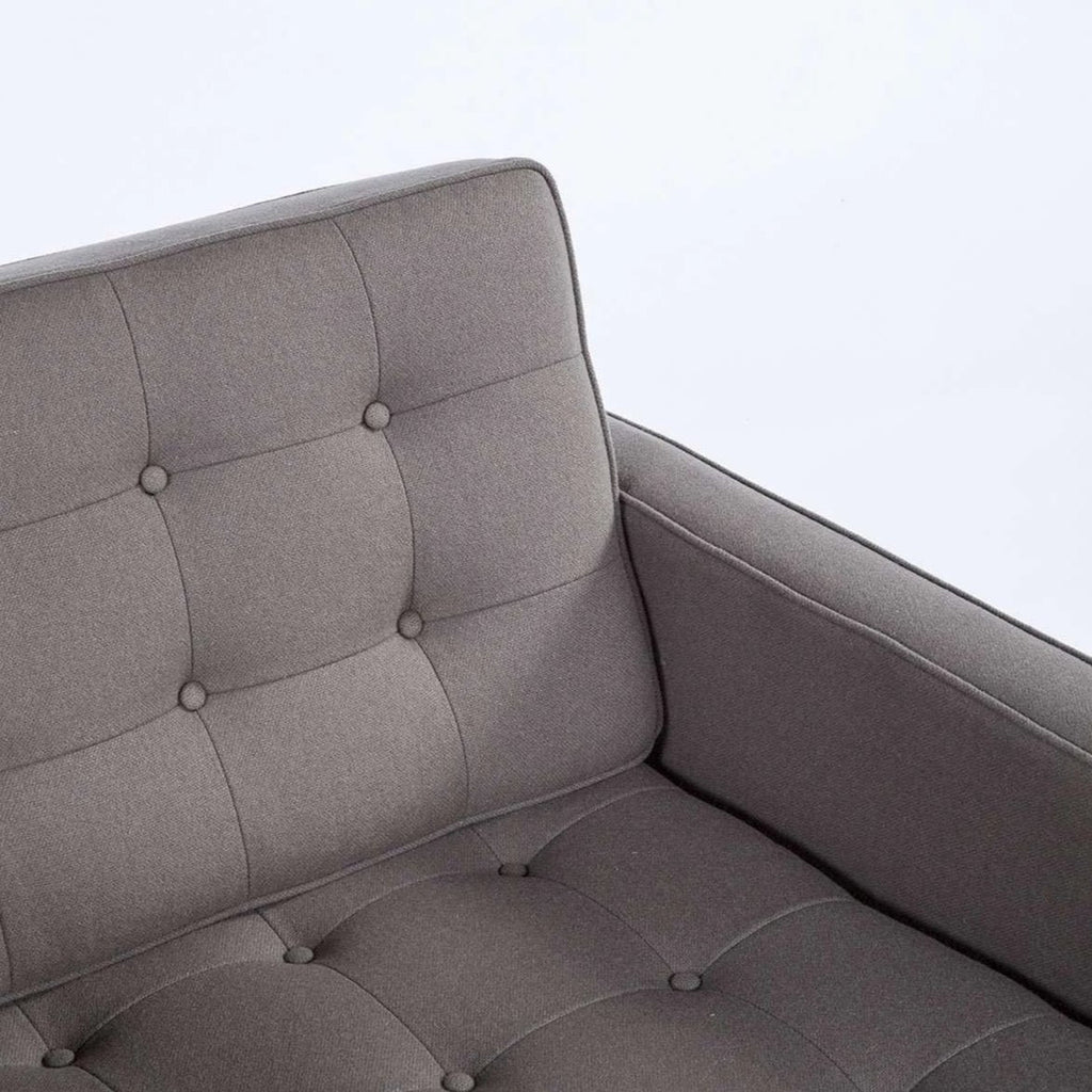 Dara Lounge Chair - Grey  [staff pick] **free local shipping only**