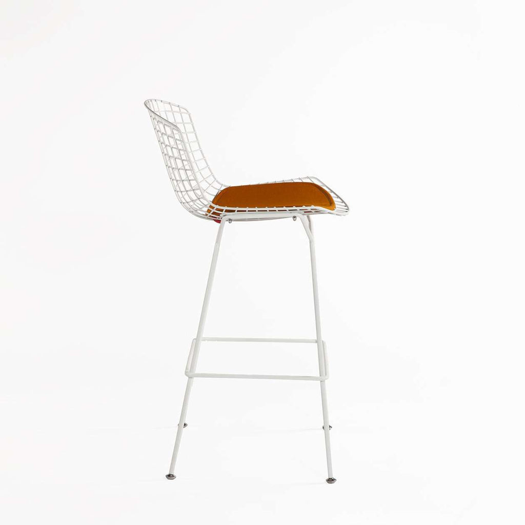 Custom Mid Century Bertoia Bar Stool