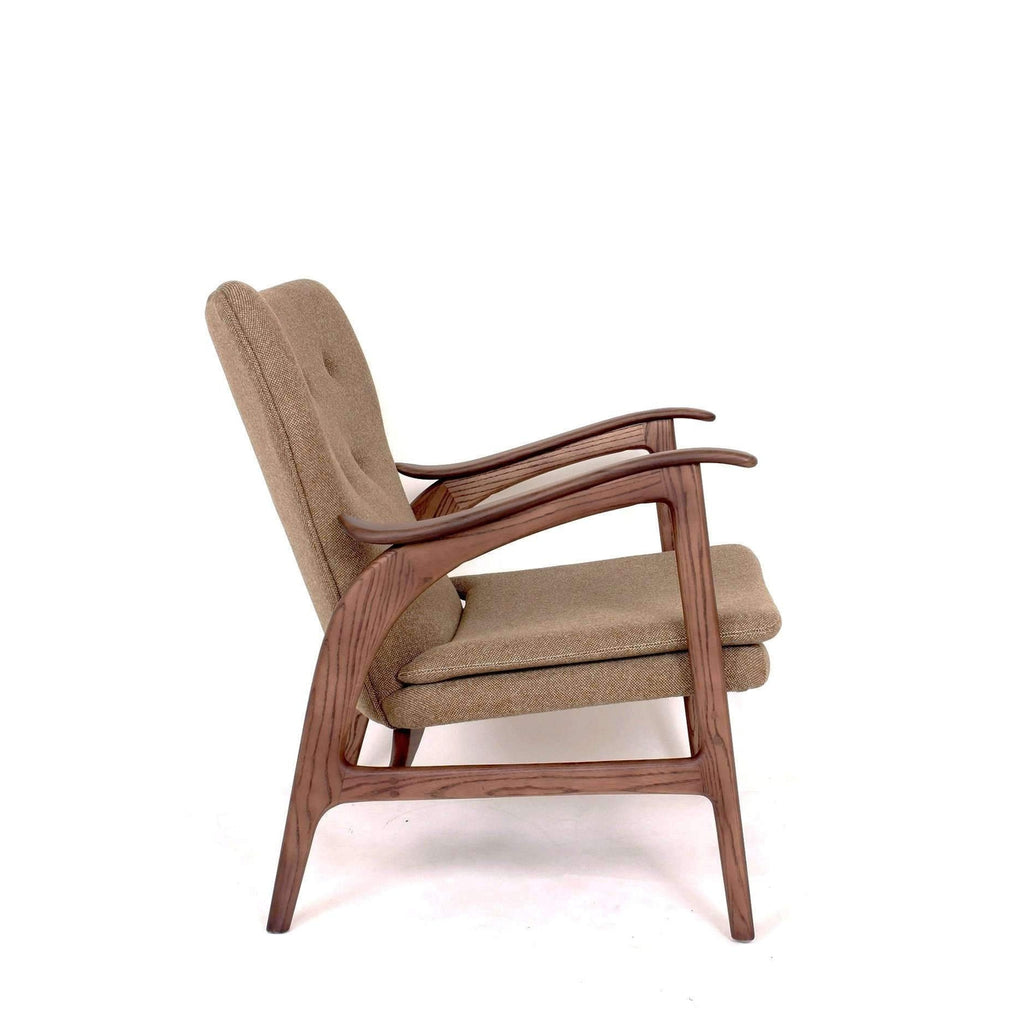 Mid Century Kellen Lounge Chair