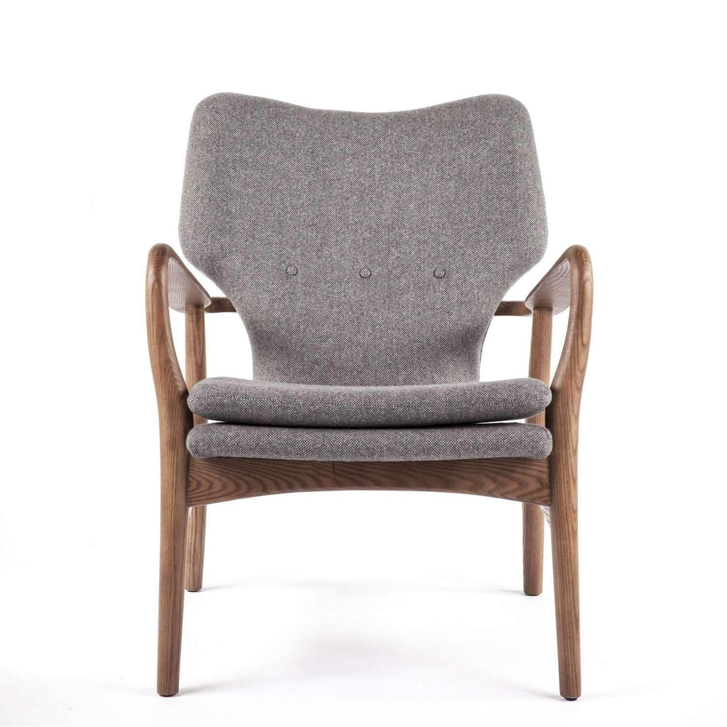 Karola Lounge Chair - Grey