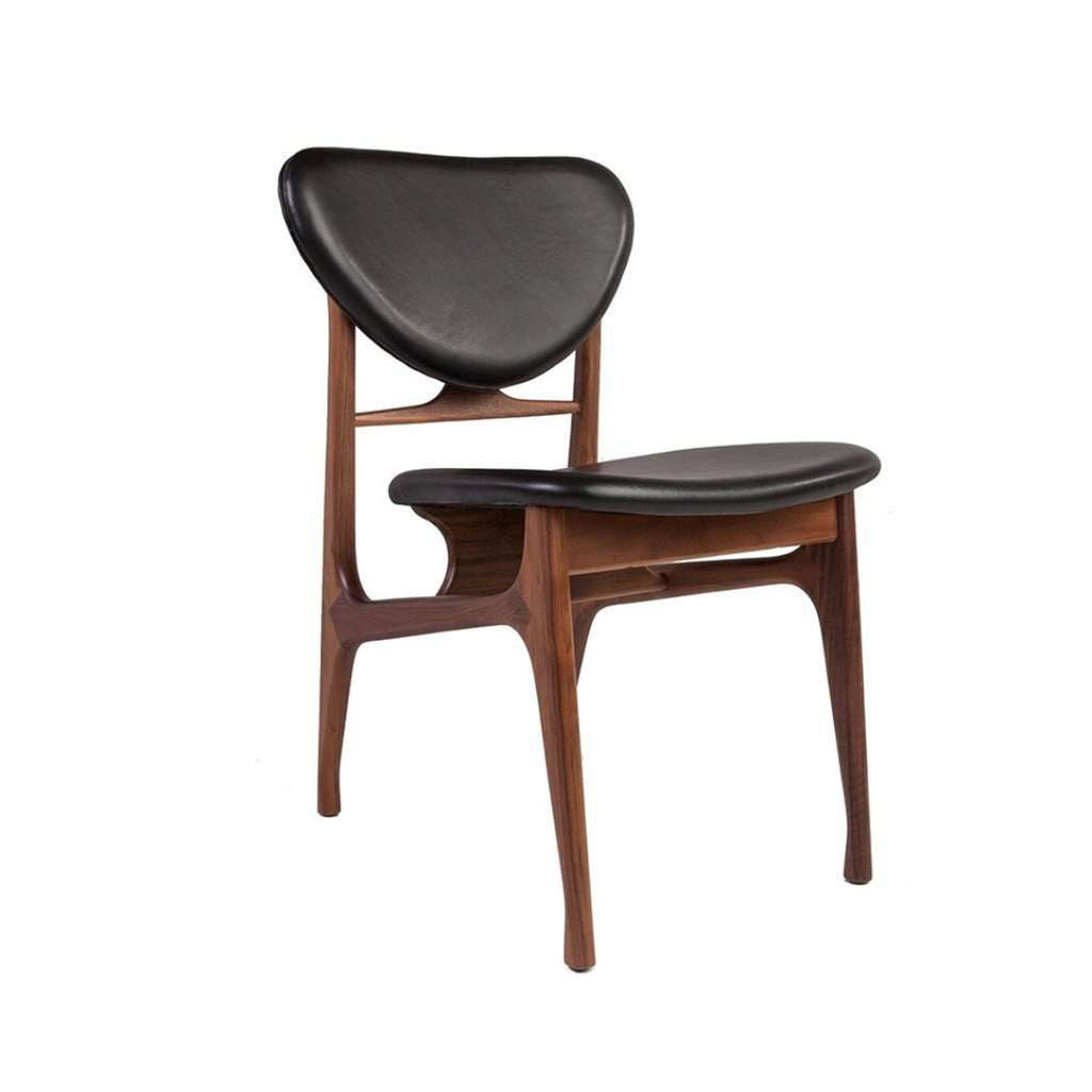 Ejnar Dining Chair - Black Leather - [staff pick] Free Shipping