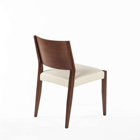 Boid Dining Side Chair - White Leather - [new product] Free local shipping only*****
