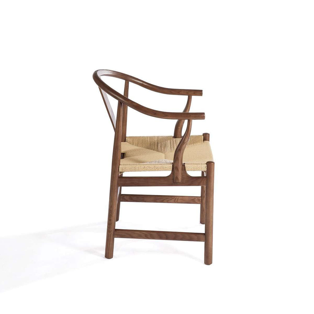 Mid Century Wegner China Chair with Papercord Seat