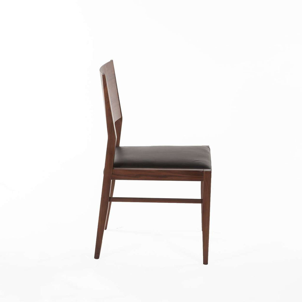Boid Dining Side Chair - Black Leather [new product]
