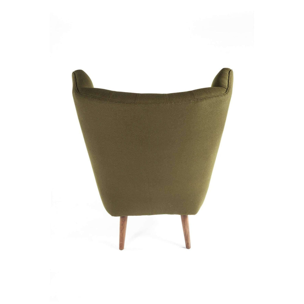 PP19 Papa Bear Chair and Ottoman - Green