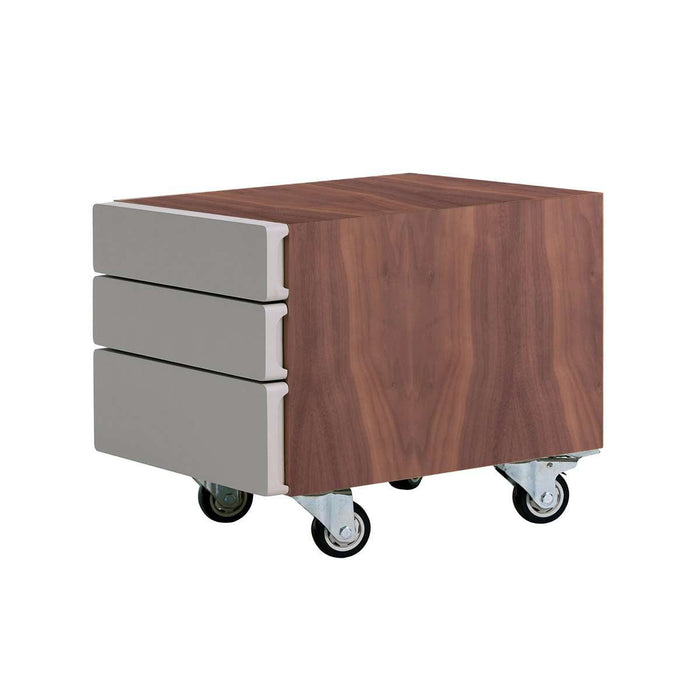 Modern Kutio Rolling Storage Table