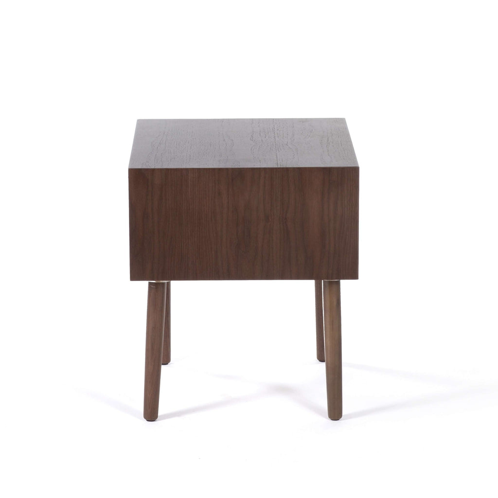 Vogel Mid Century Nightstand - Walnut  **PICK UP ONLY**