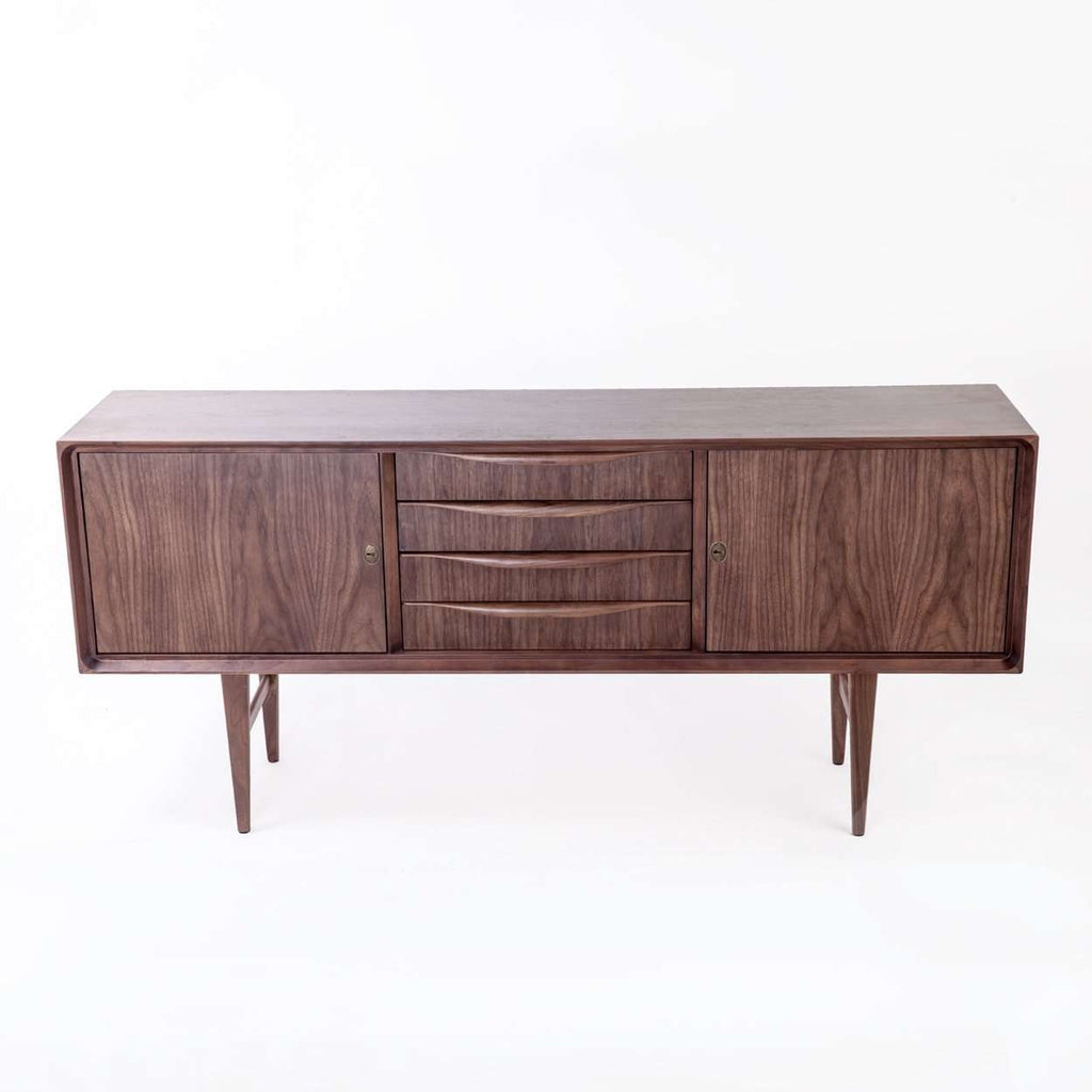 Mid Century Walnut Vogel Credenza *free local shipping only *