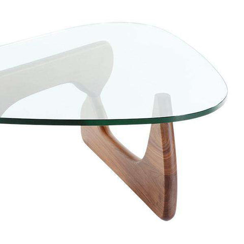Mid-Century Triangle Coffee Table - Small