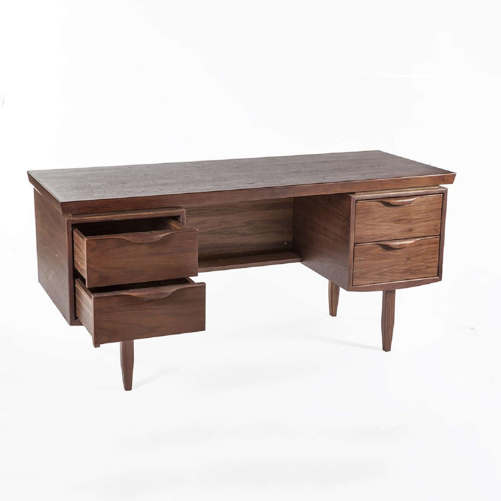 Mid Century Karon Desk in Walnut