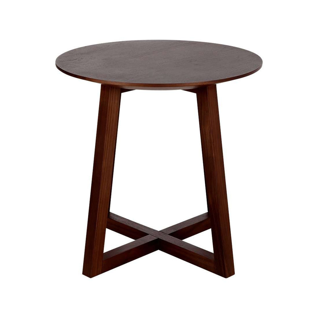 Circle Cross Side Table  *Free Local Shipping Only*