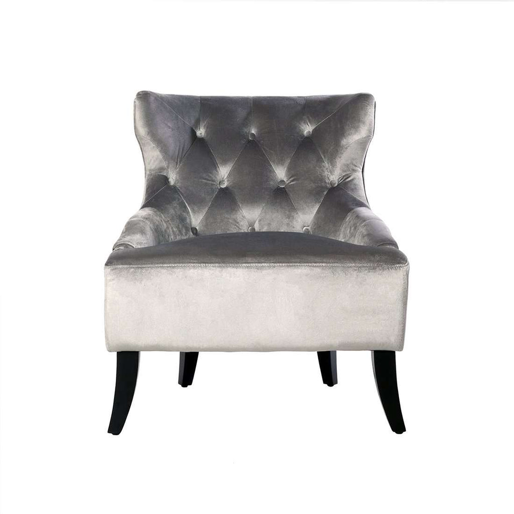 Irre Easy Chair - Silver Velvet - [new product] free local shipping only*****