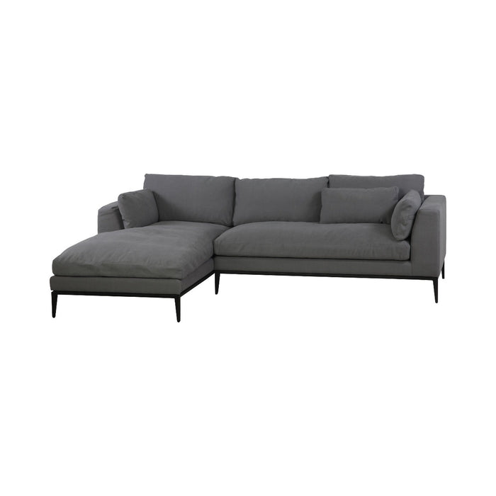 Sovn Belgium Linen Down Feather Sectional