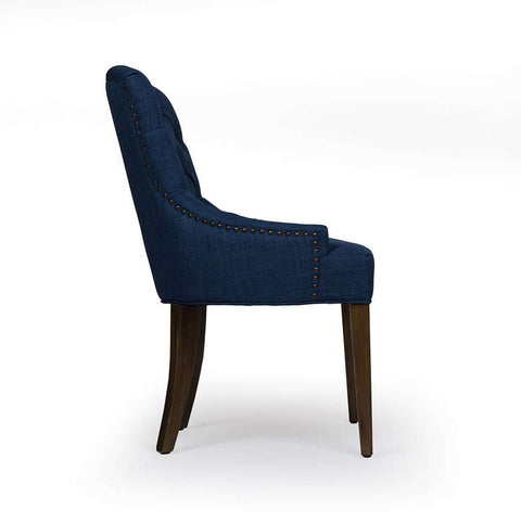 Birtwistle Accent Chair - Blue - *PICK UP ONLY* [50gift]