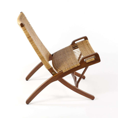 Mid Century Wegner Folding Chair