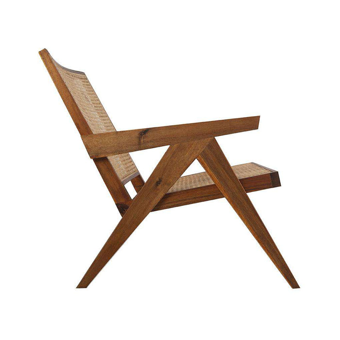 Jeanneret Hand Cane Lounge Chair