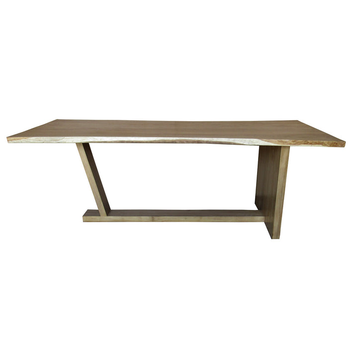 Naka Live Edge Teak Dining Table or Desk