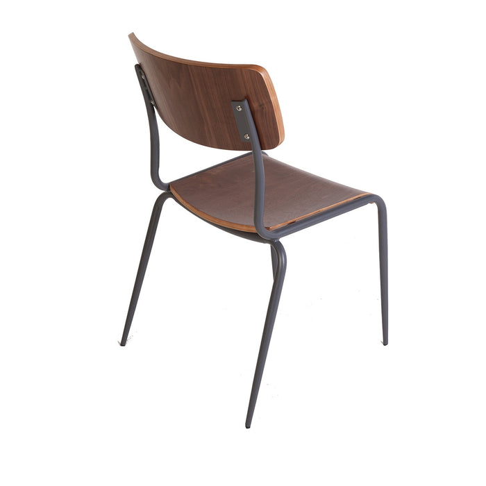 Industrial Hummel School House Side Chair