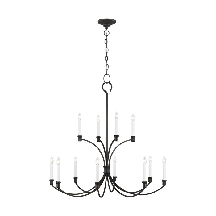 Westerly 12 Light Chandelier