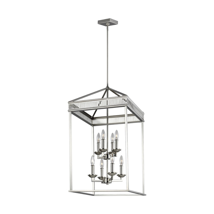 Woodruff 8 Light Chandelier