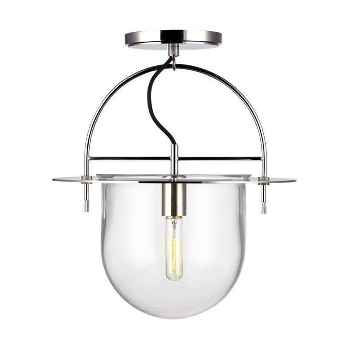 Nuance 1 Light Medium Semi Flush Mount
