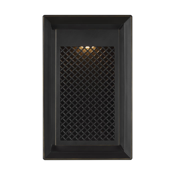 Milton 1 Light Outdoor Wall Lantern