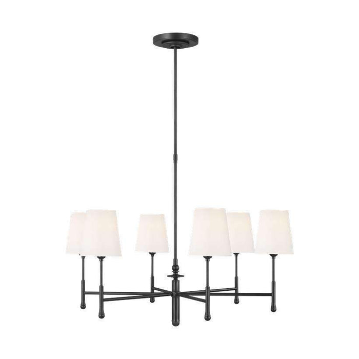 Capri 6 Light Chandelier
