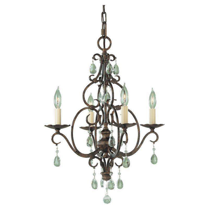 Chateau 4 Light Mini Chandelier