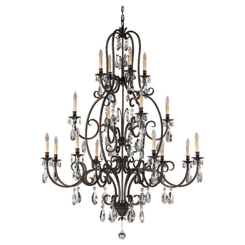 Salon Maison 16 Light Multi Tier Chandelier